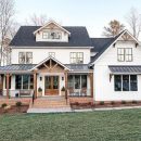 ✔54 farmhouse exterior design to help create a cozy and inviting home 11